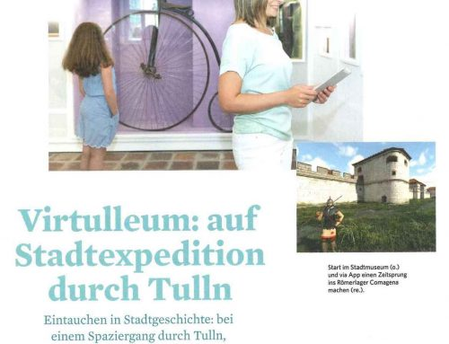 schaufenster KULTUR.REGION reports about the Virtulleum-App