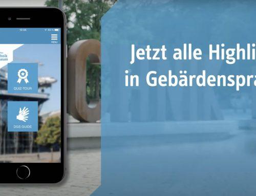Barrierefreiheits-Schwerpunkt in unserer App für das Deutsche Technikmuseum